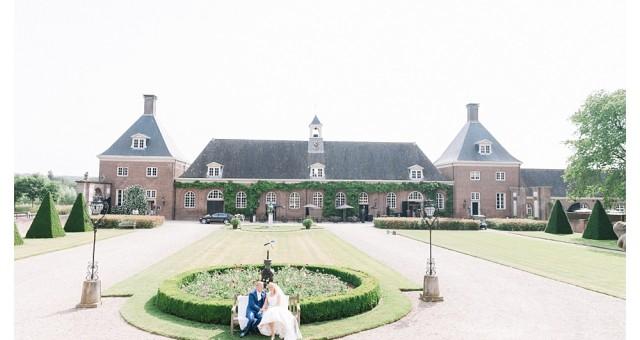 Bruiloft Arjen en Charissa op Buitenplaats Amerongen