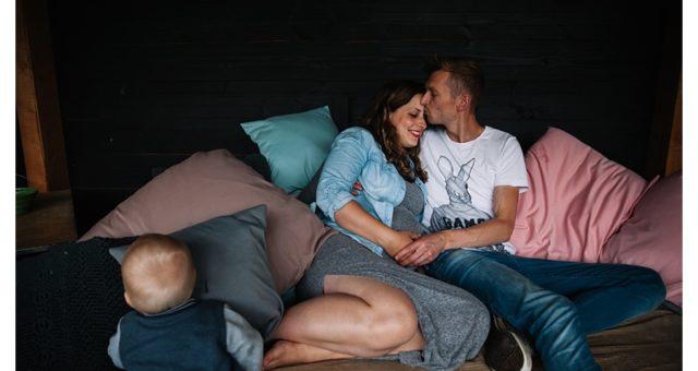 Zwangerschapsshoot Boxmeer gezin