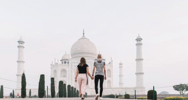 Reizen door India