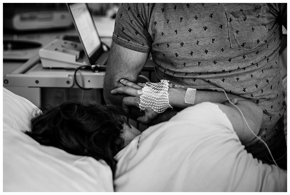 momenten rondom de bevalling fotograferen
