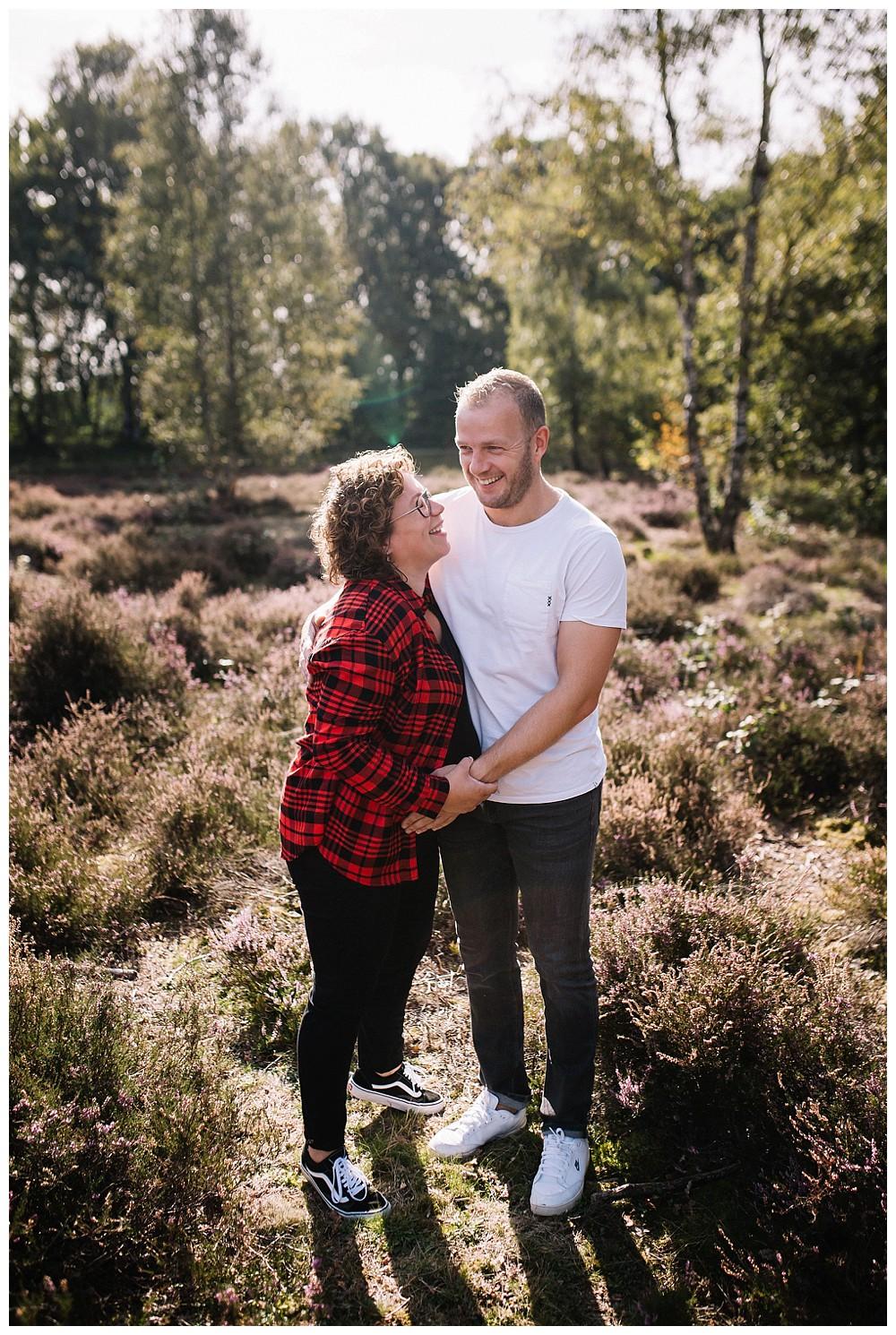 zwangerschap fotoshoot veenendaal slaperdijk hei